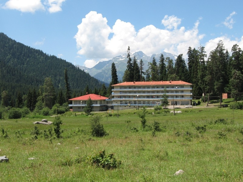 Shovi Hotel with in the mountains, Racha, Georgia